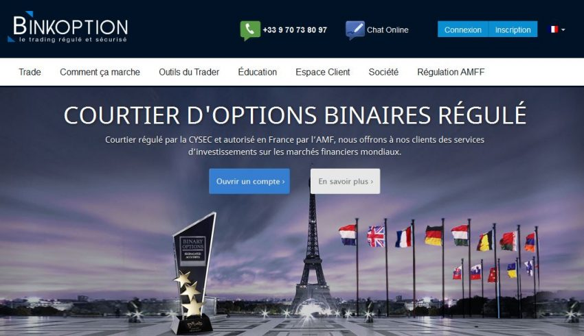 Trader les options binaires