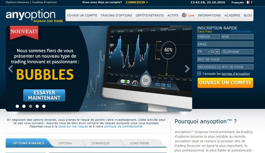 Avis options trading