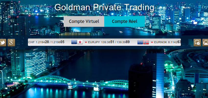 goldman private trading