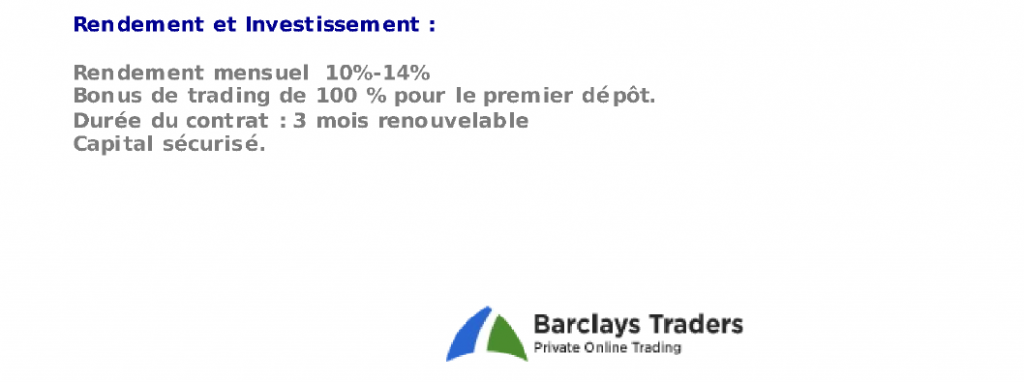Barclays Traders, le compte épargne à 14%
