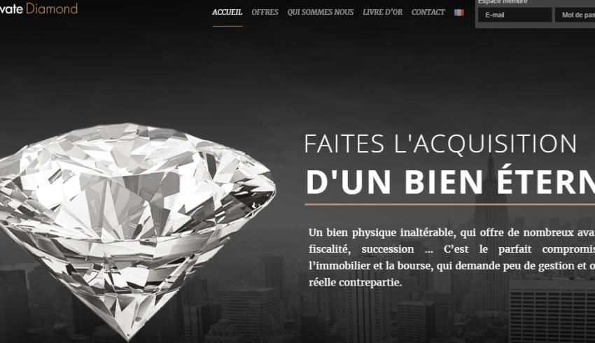 escroquerie diamant