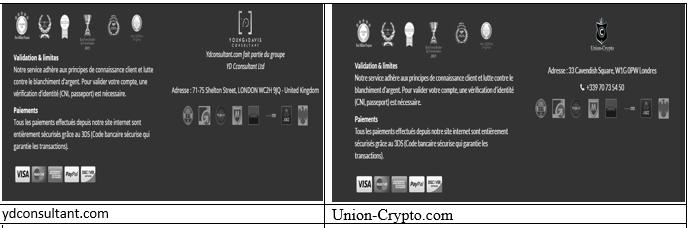 arnaque union crypto