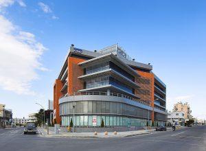 Le KPMG center de Limassol, siège de VPR Safe Financial Group et donc d'Alvexo