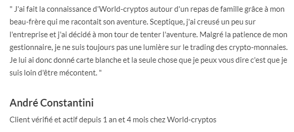arnaque world cryptos