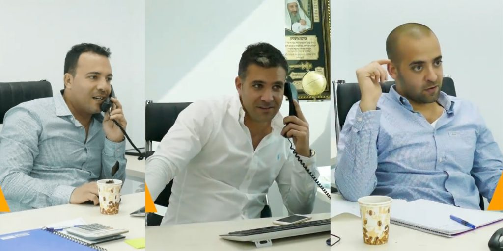 Shlomi Amsalem, Noam Moshe Hano et Adir Aharony, directeurs d'Alvexo-Netotrade  LES TROIS MOUSQUETAIRES DU FOREX
