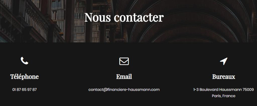Financiere-haussmann.com