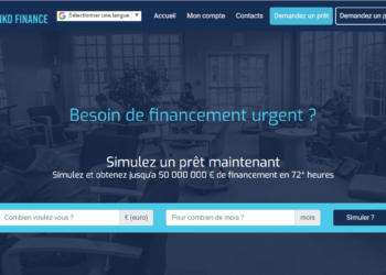 Arnaque n°887 : Bankofinancegroup.com
