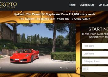 Arnaque n°907 : Cryptovip-club.com