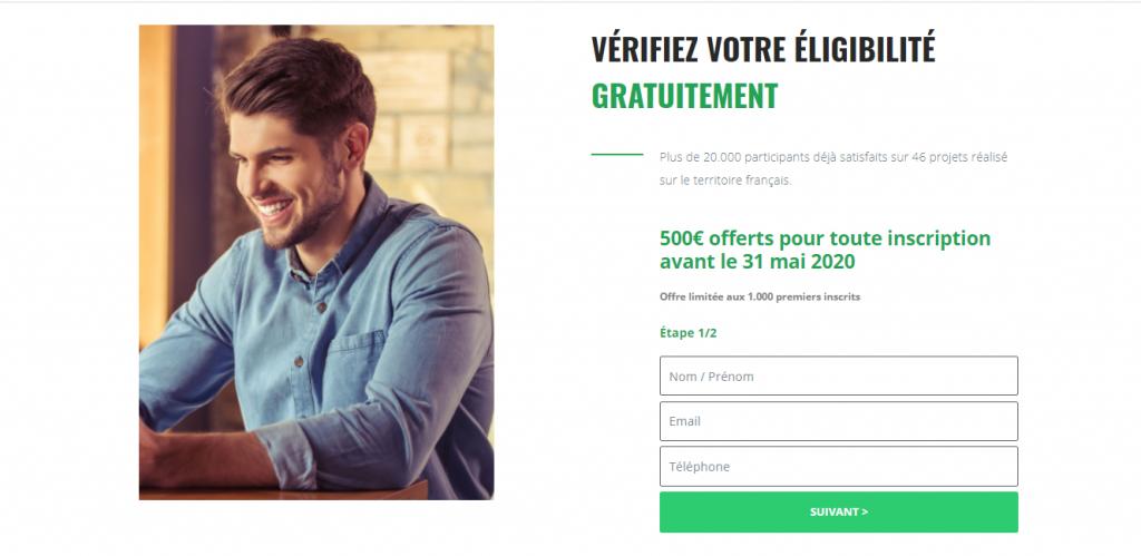 Invitation de Moninvestissementonline.com