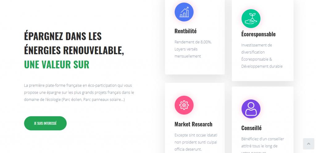 Interface de Moninvestissement. online/index.php/plac/