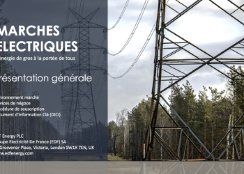 EDF ne propose pas aux particulier de trader l'électricité