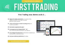 Firsttrading propose d'ouvrir un compte chez IronFX