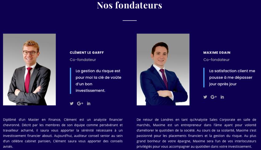 ELG Capital Partner arnaque photos retouchées