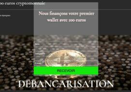 Arnaque n°925 : Debancarisation.com