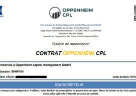 Arnaque n°937 : Oppeinhem CPL - Un internaute à deux doigts d'être escroqué