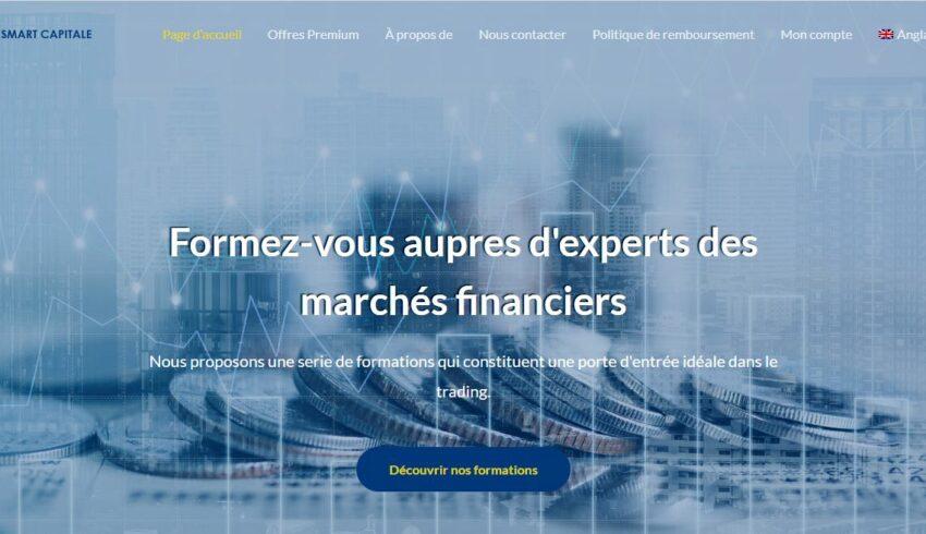 Arnaque n°924 : Smartcapitale.fr