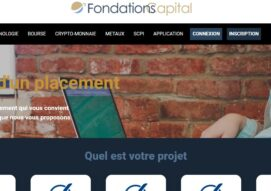 Arnaque n°959 : Fondations-capital.com