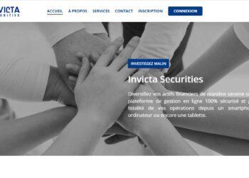 Arnaque n°946 : Invicta-securities.com