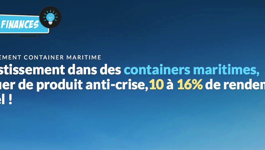 containers maritime arnaque