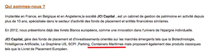 Capture JCI Capital