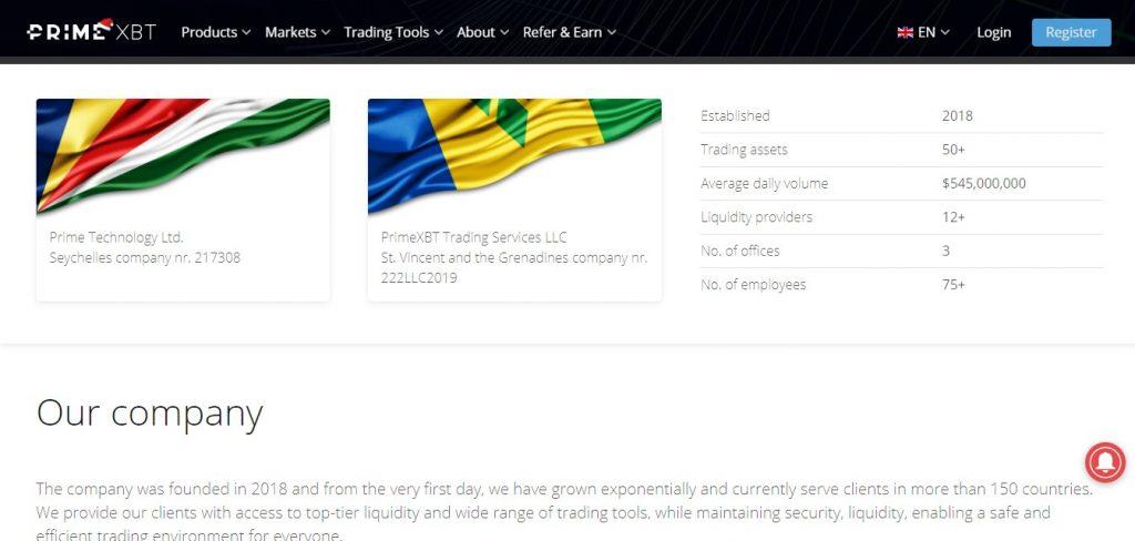 Primexbt.com, un site non fiable ?