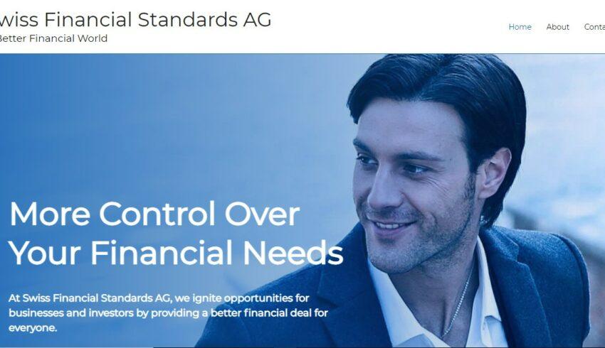 Arnaque n°1001 : Swissfinancialstandards.ch