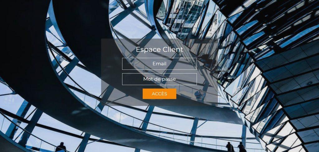 L'interface de Acd-solutions.com. On voit bien qu'elle est identique à l'interface de Scp-roncin.com.