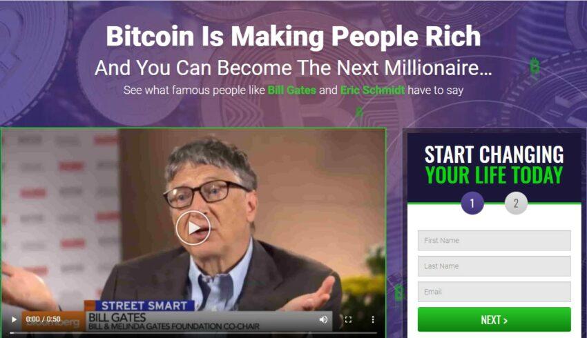 Arnaque n°1020 : Bitcointraderapps.net