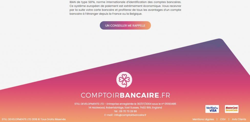 Comptoirbancaire.fr existe-t-il depuis 2018 ? Difficile à confirmer