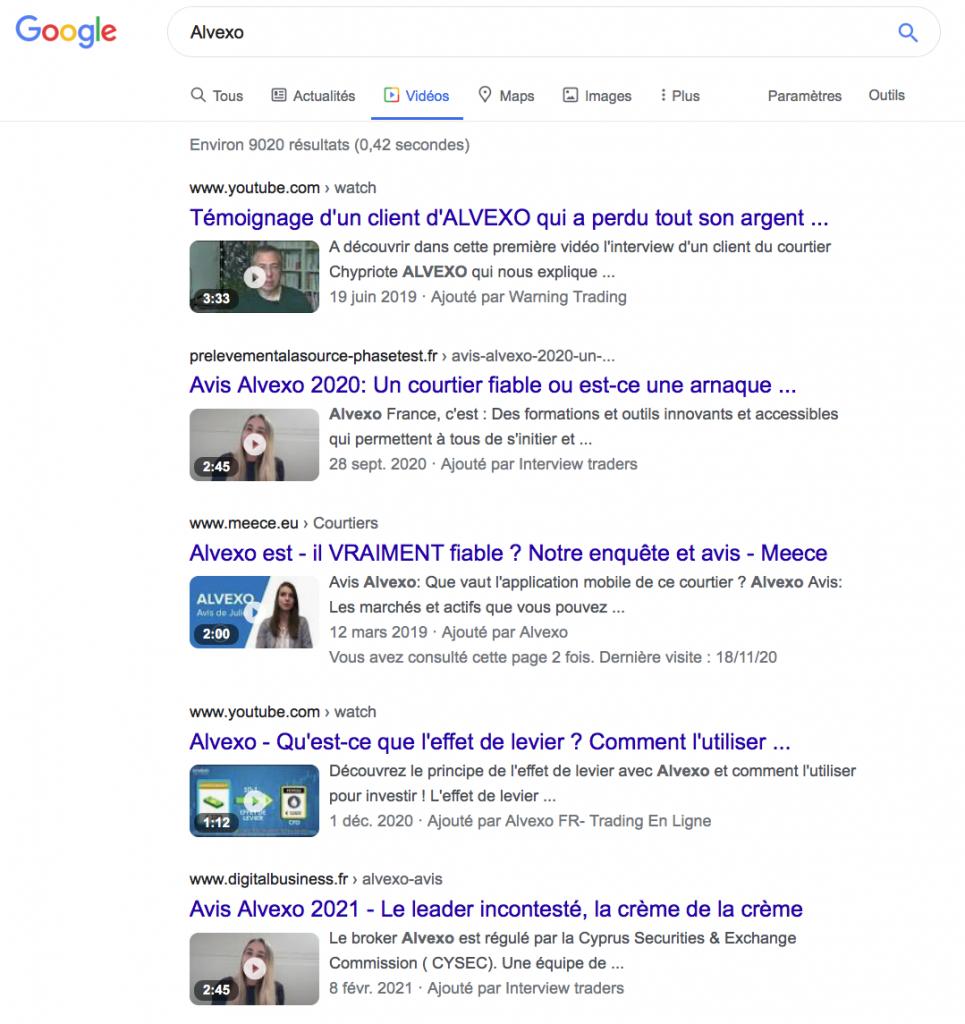 Google ALvexo