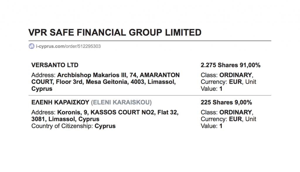 VPR Safe Financiel Group
