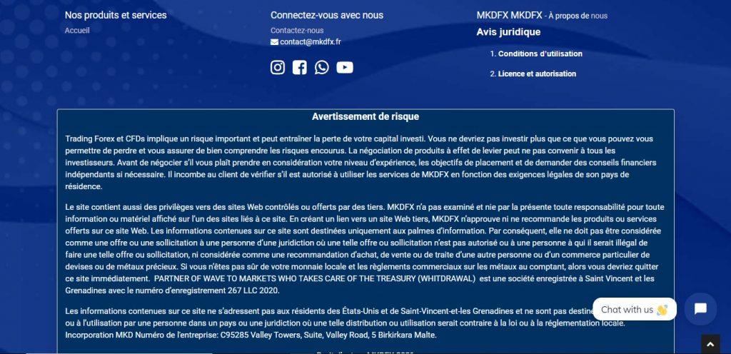 Mkdfx.fr, un site entièrement en anglais… ou presque.