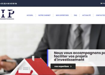 Cabinet-sip.com : le site qui vole l'identité d'une société d'ingénierie