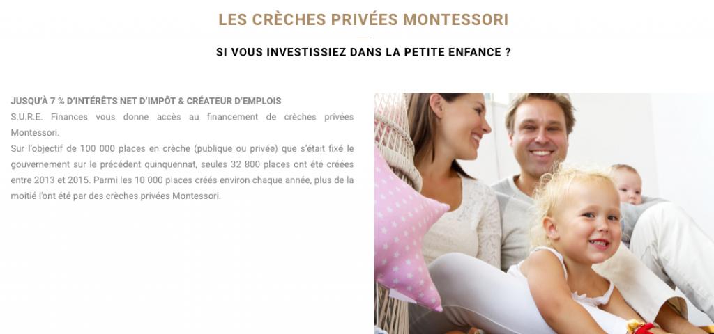 S.U.R.E. Finance SURE crèches