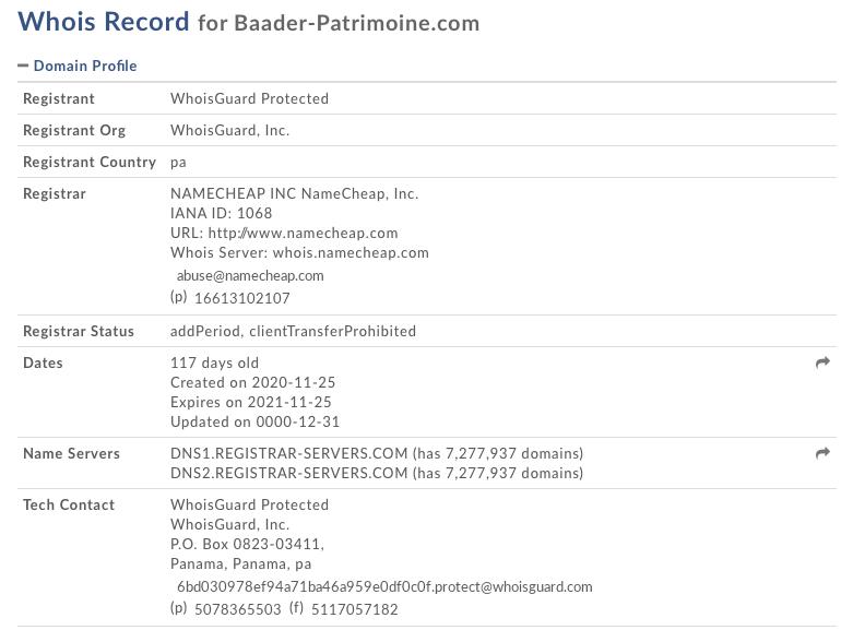 baader-patrimoine.com