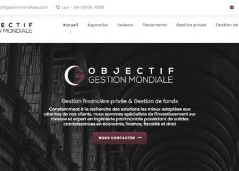 Arnaque n°1074 : Objectifgestionmondiale.com