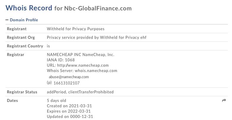 NCB Finance
