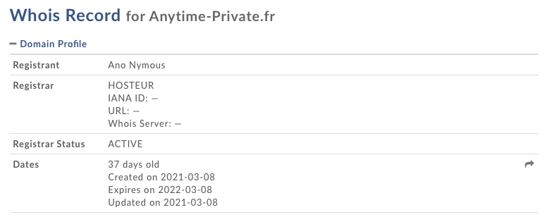 Anytime-Private