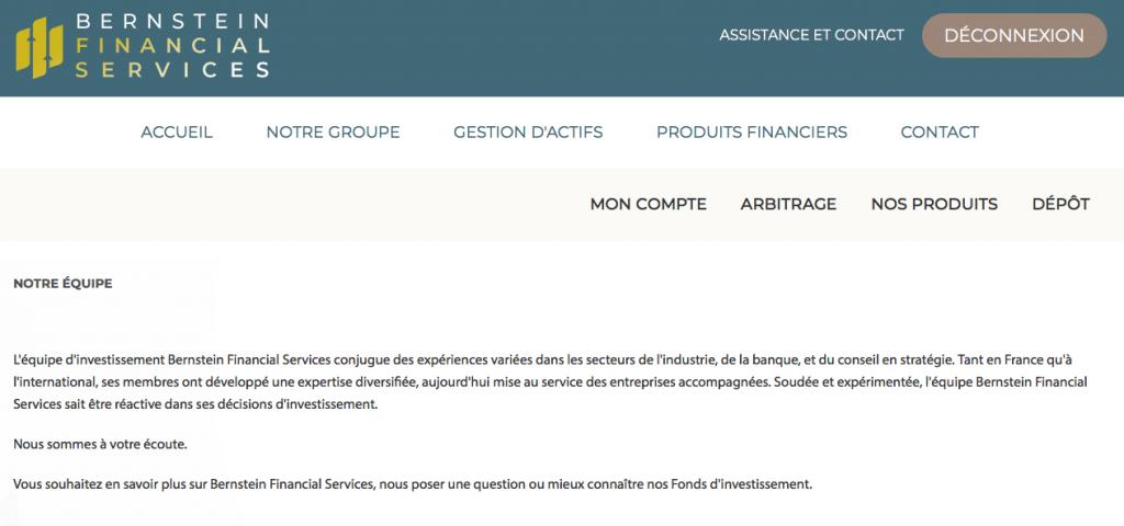 Bernstein Financial Services