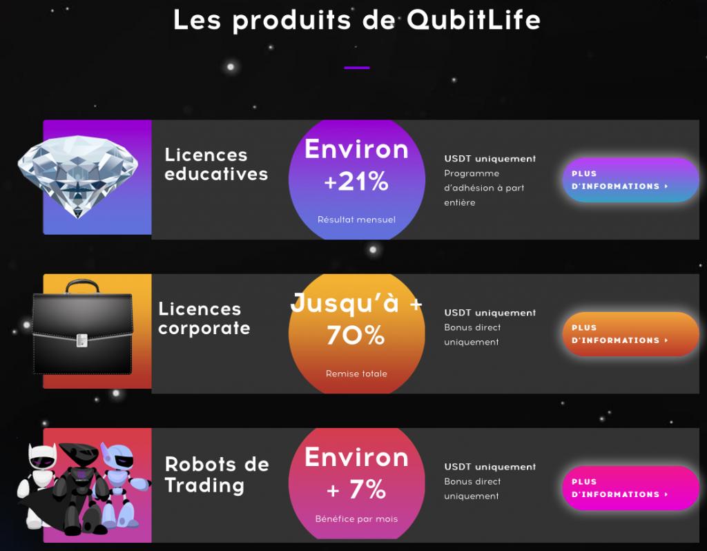 qubitlife.tv et qubittech.dev