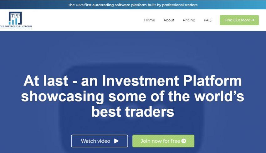 Theportfolioplateform.com : un vrai site d'assistance en trading ?