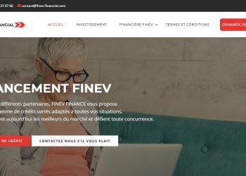 Finev-financial.com : La fausse promesse d'avoir un prêt rapide