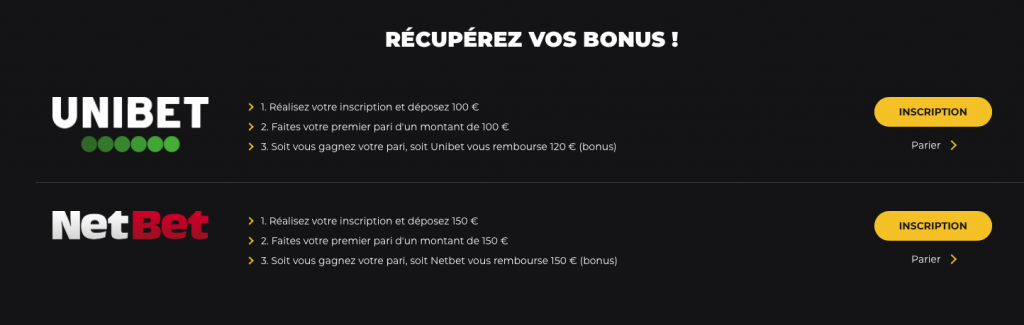 Pronoclub.fr Unibet NEtBet