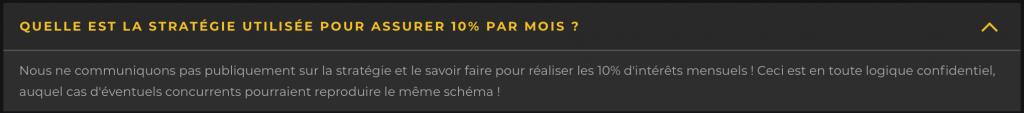 Pronoclub 10% garantie