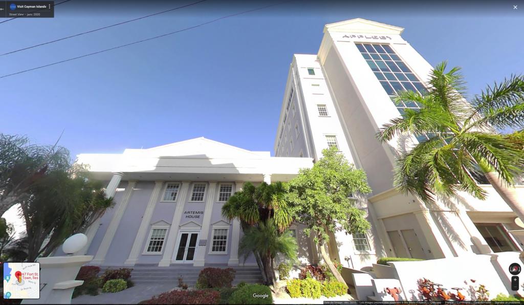 Artemis House, le siège social d'Everfx aux Iles Cayman