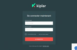 accès plateforme kiplar