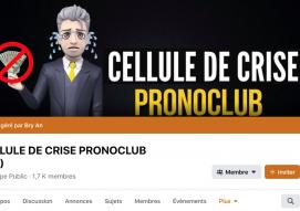 Cellule de crise Pronoclub
