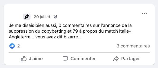 Cellule de crise Pronoclub censure commentaires