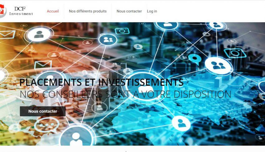 Dcf-investment.com : Une aberration sur Internet à fuir