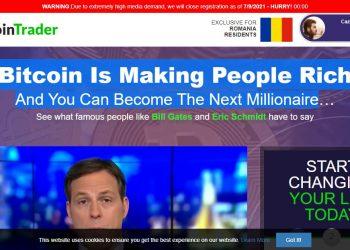 Devenir millionnaire grâce à Daily-investment-deals-now.com/bitcoin-trader ? Une utopie !